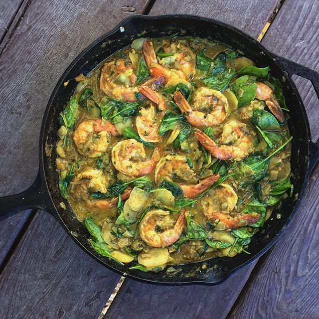Shrimp Coconut Curry